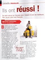 Article dans le Hors Série sur le Québec du magazine L'EXPRESS