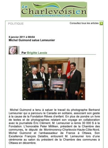 Journal Le Charlevoisien