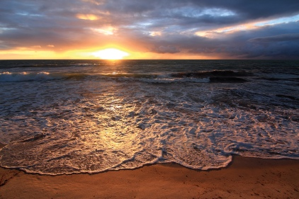 Lever de soleil à la plage de Carneiros (Pernambuco, Brésil) ©Bertrand Lemeunier