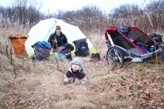 Léo découvre le camping en Pologne ! ©Bertrand Lemeunier