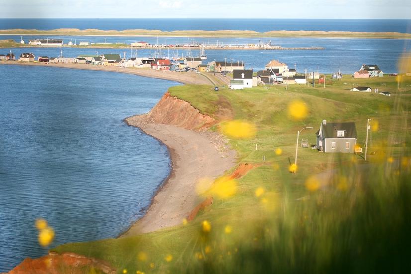 Site historique de La Grave aux Îles de la Madeleine (Québec, Canada) ©Bertrand Lemeunier