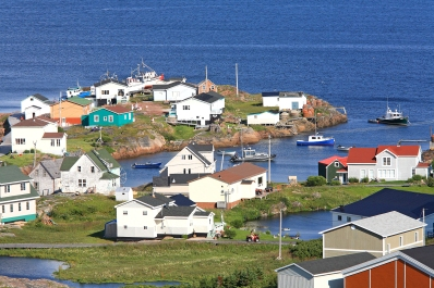 Village de Harrington Harbour (Basse Côte Nord, Québec, Canada) ©Bertrand Lemeunier