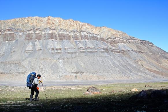 Randonnée de 120 km en 6 jours au Parc National de Quttinirpaaq (Île d'Ellesmere, Nunavut, Canada) ©Bertrand Lemeunier