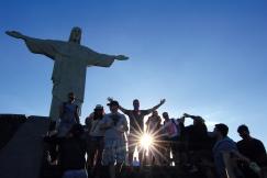 La statue du Christ Rédempteur attire les foules du monde entier (Rio de Janeiro, Brésil) ©Bertrand Lemeunier