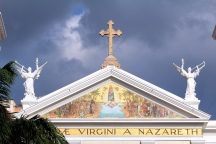 "Église ""Nossa Senhora-de-Nazare"" à belém (Para, Brésil) ©Bertrand Lemeunier"