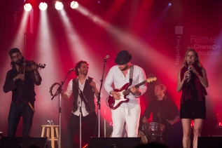 Chansons festives du monde avec le groupe Ayrad au Festival de la Chanson de Tadoussac (Québec, Canada) ©Bertrand Lemeunier