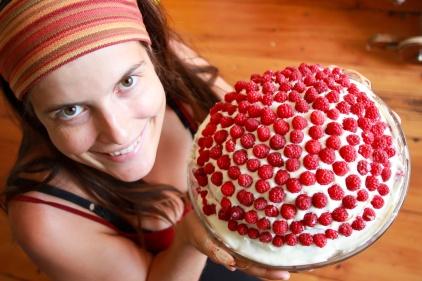 Superbe et délicieux gâteau en souvenir de notre amie Isabelle Raymond ©Bertrand Lemeunier
