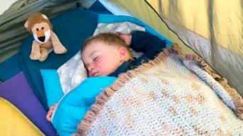 Grosse journée pour Léo, ouf ! (Otago Central Rail Trail)