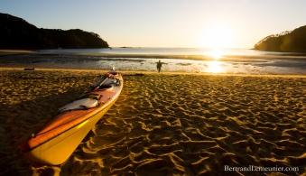 Lever de soleil à Bark Bay