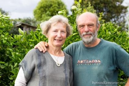 Une magnifique soirée avec Erhard et Cristine à Collingwood! Deux artistes d'origine allemande qui vivent dans un petit coin de paradis! Merci également pour les précieux conseils pour nos excursions plus au Nord.